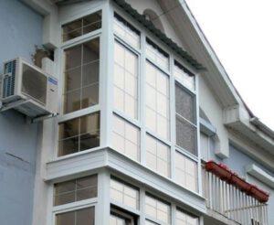панорамное осткление балкона цена харьков