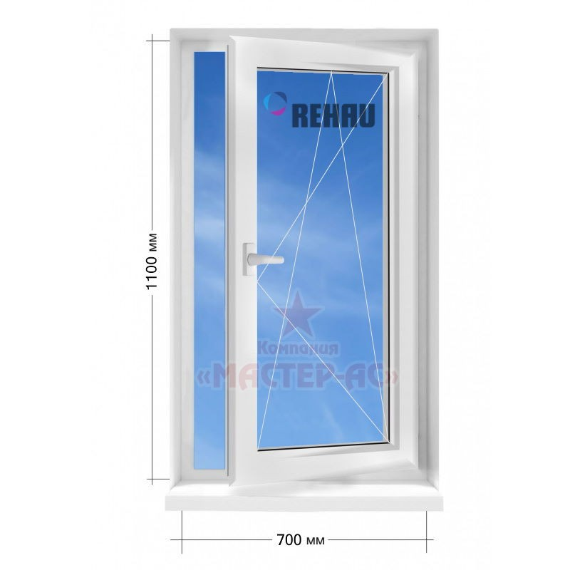 пластиковые окна в частный дом откидные купить