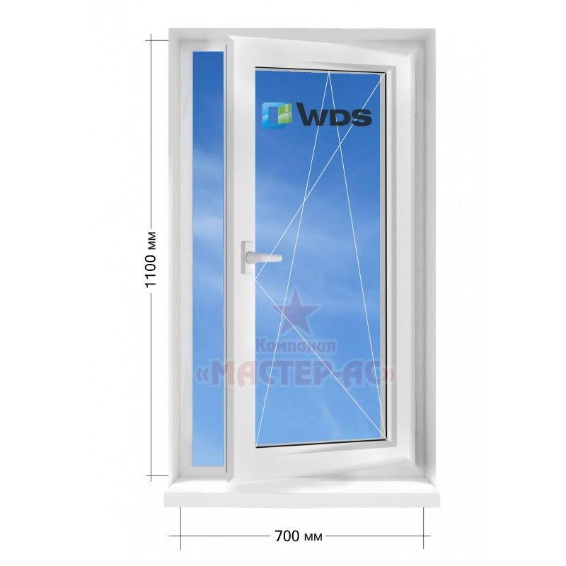 окно пластиковое wds открывающееся цена харьков