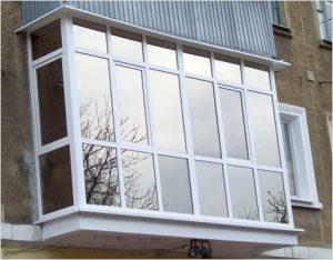 алюминиевые панорамные окна на балкон заказать харьков