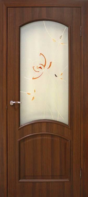 красивые межкомнатные двери со стеклом и пвх покрытием для спальни купить харьков
