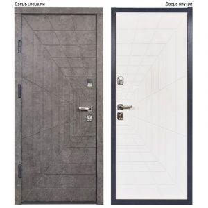 красивая бронированная дверь с мдф накладками Матрикс цена харьков
