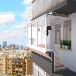 балкон с выносом цена работ харьков