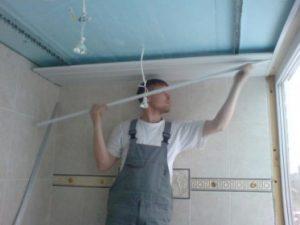 потолок на балконе в харькове: недорогие работы