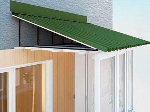 бескаркасная крыша на болкон последнего этажа: цена харьков
