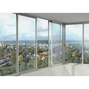Раздвижные алюминиевые окна на балкон заказать харьков
