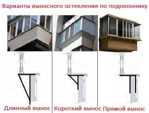 балкон с выносом варианты. заказать расширение балкона в харькове