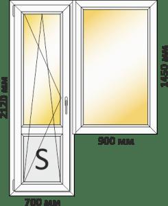 балконный блок для 9-этажки полька купить